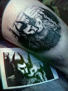 electric wizard dopethrone tattoo