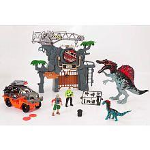 Animal Planet Dino Mountain Playset