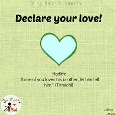 أحبك في الله 💚 love for the sake of Allaah Islam Hadith, Allah Islam, Islam Quran, Love In Islam, Allah Love, Quran Verses, Quran Quotes, Hadith Quotes, Beautiful Islamic Quotes