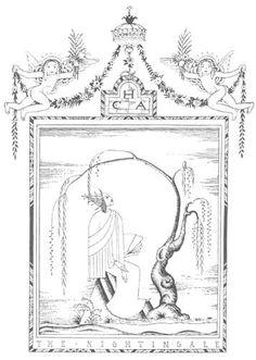 "The Nightingale from ""Fairy Tales By Hans Andersen"". Kay Nielsen, illustrator. London: Hodder  Stoughton, 1924. - SurLaLune"