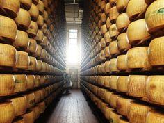 Twitter / @Ainara Garcia: El paraíso del queso. ¡Literalmente!