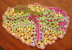 113 Tree of Life {A freeform rug ~ crochet inspiration}