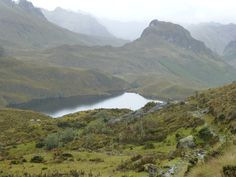Hike in the Cajas National Park just west of Cuenca