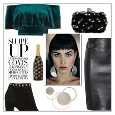 """""""It's Cool To Be Quirky!"""" by rocio-martinez-1 ❤ liked on Polyvore featuring River Island, Moschino, Alexander McQueen, Valentino and Marc Jacobs"""