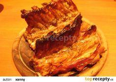 Grilovaná žebra recept - TopRecepty.cz Steak, French Toast, Pork, Breakfast, Kale Stir Fry, Morning Coffee, Steaks, Pork Chops