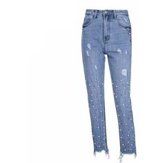9924ede383386c High Waist Pearl Studded Ankle Leggings - Trendsology Fashion Group, High  Waist, Tunic,