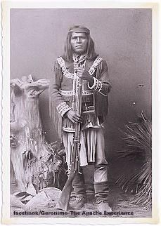 Mangas (aka Carl Mangus), (? - 1901 Fort Sill, Okl.), the youngest son of Mangas Coloradas, Warm Springs Chiricahua Apache. Mangas surrendered a short time after Geronimo, in 1886. He was imprisoned in Ft. Pickens - Florida, Mobile - Alabama, and Fort Sill - Oklahoma with the other Chiricahua Apache people.