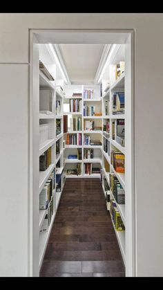A walk in closet for books!!!