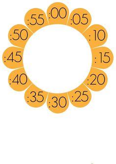 Aula de Elena: Decoración para el reloj del aula