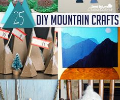 DIY Mountain Craft Roundup @savedbyloves