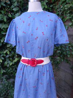 Vintage 50's / 60's Dress. Schoolgirl Dress. by sailorpinkvintage, $46.00