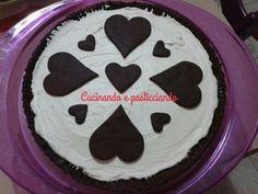 Crostata cioccolato e mascarpone.  www.cucinandoepasticciando.com