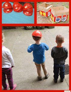 Spiele für die Feuerwehrparty