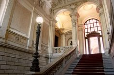 Palazzo Marino - Palazzo museo- Lo Scalone