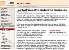 Interesting article about the discrepancy between Fairtrade sourcing and coffee quality controls.