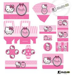 Dealing With Cat Allergies Hello Kitty Baby Shower, Hello Kitty Birthday, Cat Party, Party Kit, Cat Allergies, Hello Kitty Wallpaper, Barbie Furniture, Decoration, Party Themes