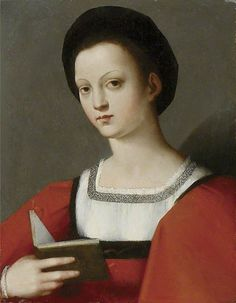 Portrait of a young Woman, c.1506-1525, attributed to Andrea Brescianino
