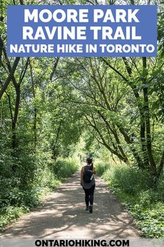 There's lots of scenic walking paths and hiking trails in Toronto! This loop trail combines three beautiful hiking trails in midtown Toronto through the Don Valley, including Moore Park Ravine and the Beltline Trail.   #Toronto #Hiking #Ontario #Canada #Hikes  City hiking trails   Toronto hiking trails   Beltline Trail   Moore Park Ravine   David Balfour Park   Evergreen Brickworks   Parks in Toronto   Trails in Toronto   Walking paths in Toronto   Places to visit in Toronto Moore Park, Canada Destinations, Amazing Destinations, Canada Travel, Travel Usa, Visiting Niagara Falls, Toronto, Parque Natural, Walking Paths