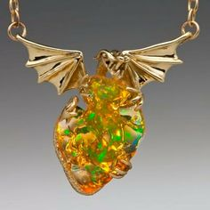 MirageMexican Fire Opal Dragon Jewelry by martymagic on Etsy, $8900.00