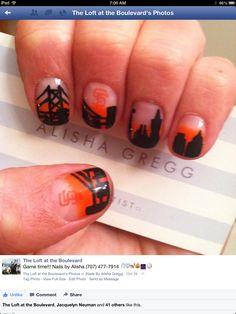 San Francisco Giants | Nail art blog