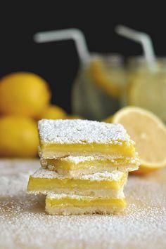 Lemon Bars - The Candid Appetite