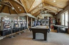 Now this is a game room! #luxury #thegoodlife #luxuryestates