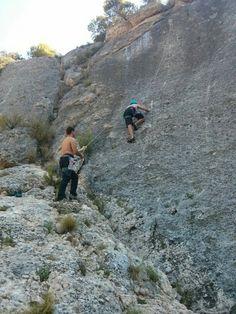 Margalef climbing