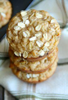 Apple Oat Greek Yogurt Muffins | Community Post: 27 Delicious Greek Yogurt Recipes You Need To Make