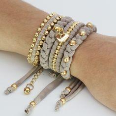 Beautiful Tarn {T-shirt Yarn} + Gold bracelet inspiration <3 http://www.tarnsa.co.za/
