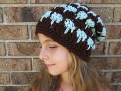 Crochet Hat Chunky hat Spring Hats Teen Hats knit by Ritaknitsall