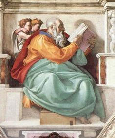 Check out 16 of Michelangelo Most Famous Paintings. One of the prominent artist of the Italian Renaissance. A Renaissance painter, sculptor, and architect renowned worldwide as one of the greatest artists of all time. Renaissance Kunst, Renaissance Paintings, Italian Renaissance, Fresco, Miguel Angel, Sistine Chapel Michelangelo, Michelangelo Paintings, Sistine Chapel Ceiling, Renaissance