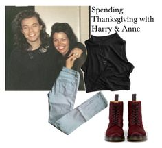 """""""Untitled #1394"""" by styles-love-11 ❤ liked on Polyvore featuring Maje and Dr. Martens"""