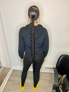Black Ponytail Hairstyles, Slick Hairstyles, Baddie Hairstyles, Black Girls Hairstyles, Cute Hairstyles, Sleek Ponytail, Ponytail Styles, Curly Hair Styles, Natural Hair Styles