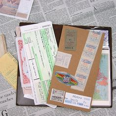 004 Pocket Sticker / ポケットシール | TRAVELER'S COMPANY