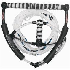 Wakeboard ropes are the best thing ever! Mine is exactly like this but the line itself has more blue I think. And it doesn't hurt that it has a zebra-ish print on the handle Ski Deals, Ski Equipment, Sup Surf, Boat Accessories, Water Photography, Snow Skiing, Big Waves, Wakeboarding, Lake Life