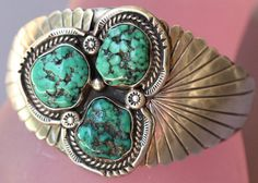 Vintage Navajo Native American Indian Sterling &  by flame100, $265.00