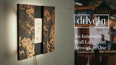 delyght introduces innovative, artistic, modular wall light at an affordable budget, on Kickstarter.
