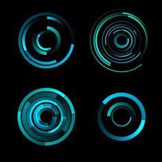 Digital artwork for the film Tron Legacy, by Joshua T. Nimoy