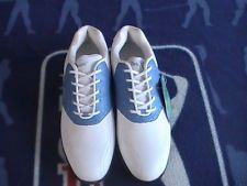 a6f91bbeddecbf A-Game Velocity Blue White Waterproof Ladies Size 7 Golf Shoes - NEW
