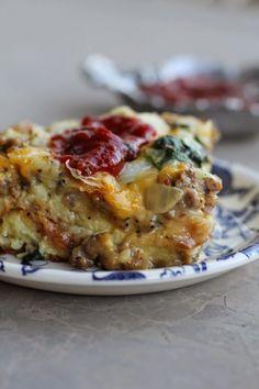 Overnight Croissant Breakfast Bake