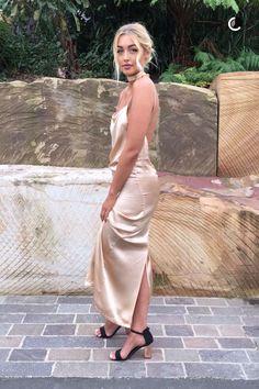 Sammy Robinson backless dress