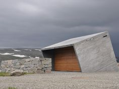 The Cube-Shaped Flotane is a Solar-Powered Rest Stop For Hikers in Norway