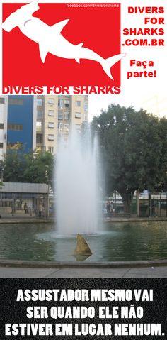 Ajude o Projeto Divers for Sharks a viajar pelas cidades do Brasil e do mundo desmistificando e preservando os tubarões! http://www.vakinha.com.br/Vaquinha.aspx?e=28233