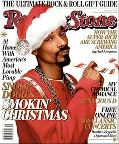 Snoop Dogg on the cover of Rolling Stone, December 14th, 2006