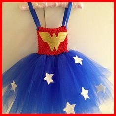 Wonder Woman Tutu by Babyboutiquebycp on Etsy
