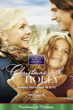 """Find out more about the Hallmark Hall of Fame Film """"Christmas with Holly,"""" starring Sean Faris & Eloise Mumford. Christmas Cartoon Movies, Hallmark Holiday Movies, Great Christmas Movies, Xmas Movies, Hallmark Holidays, Christmas Music, Great Movies, Christmas Time, Christmas Cartoons"""