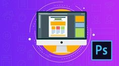 Learn Photoshop, Web Design & Profitable Freelancing 2017 Learn Photoshop and use it to create amazing website designs and create a high, stable income. No coding needed! Adobe Photoshop, Photoshop Web Design, Photoshop Course, How To Use Photoshop, Photoshop Tutorial, Photoshop Classes, Photoshop Illustrator, Web Design Projects, Web Design Tutorials