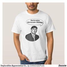 97886c17be5 Deplorables Appreciation Crumbs Donald Trump Shirt for men
