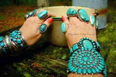 Turquoise Photo Shoot   Abby Kent Flythe Fine Art