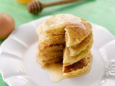flocons d'avoine, sucre, sel, lait, oeuf Cake Sans Oeuf, Bowl Cake, Crepes, Apple Pie, Brunch, Vegetarian, Nutrition, Snacks, Cooking